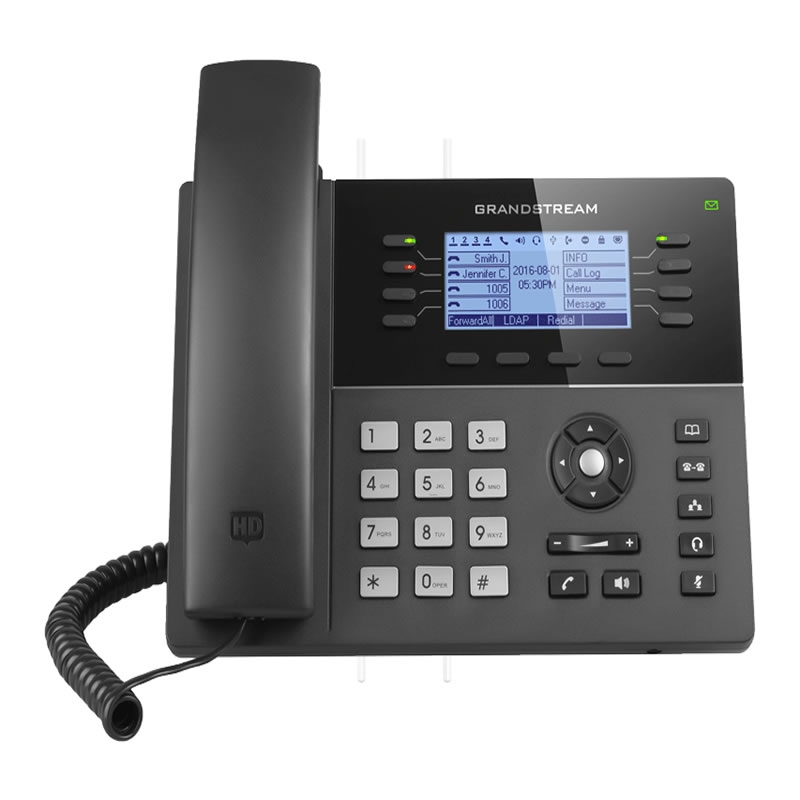 GXP1780/GXP1782 - Telephone IP - 4 Acoounts SIP / PoE / Ports Gigabit